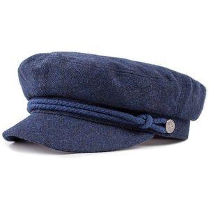 Navy blue Brixton Fiddler Cap